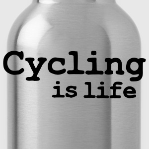 cycling is life T-shirts - Drinkfles