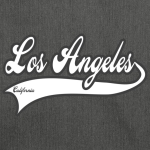 los angeles california Camisetas - Bandolera de material reciclado