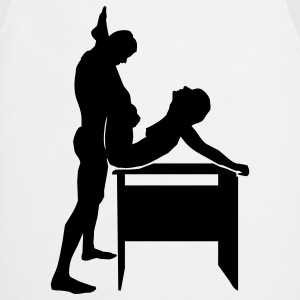 sex position Camisetas - Delantal de cocina