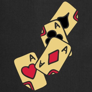 Poker Cards Game Ace Heart Spade Cross Caro Tattoo T-paidat - Esiliina