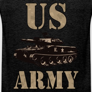 US Army 01 T-Shirts - Men's Premium Tank Top
