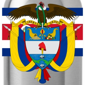 Crest Colombia (dd) T-shirts - Drinkfles