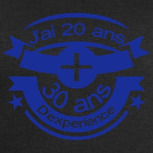 50 ans 20 plus 30 experience anniversair Tee shirts - Sweat-shirt Homme Stanley & Stella
