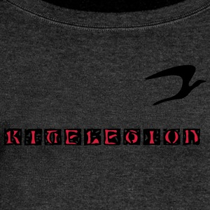 kitelegion_oldblock_vec_2 T-Shirts - Women's Boat Neck Long Sleeve Top