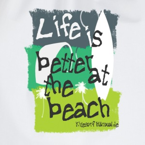 Beachlife green T-Shirts - Turnbeutel