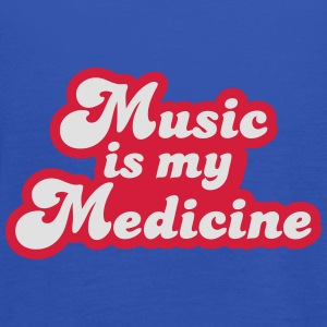Music is my Medicine T-Shirts - Women's Tank Top by Bella