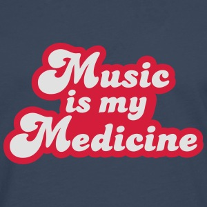 Music is my Medicine T-Shirts - Men's Premium Longsleeve Shirt