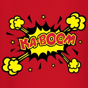 KABOOM, comic speech bubble, cartoon, word balloon T-Shirts - Baby Long Sleeve T-Shirt