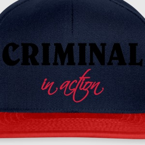Criminal in action T-shirts - Snapback cap