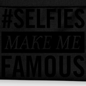 #Selfies Make Me Famous T-skjorter - Ryggsekk for barn