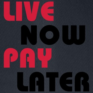 Live now, pay later T-shirts - Flexfit basebollkeps