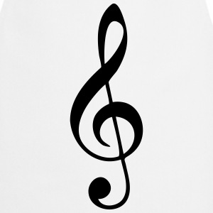 Music, sheet music, classical, note, band, choir T-Shirts - Cooking Apron