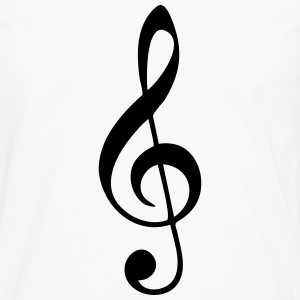 Music, sheet music, classical, note, band, choir T-Shirts - Men's Premium Longsleeve Shirt