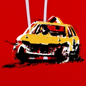 StockCar T-Shirts - Contrast Colour Hoodie