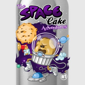 Space cake adventures - Water Bottle