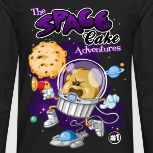 Space cake adventures - Men's Premium Longsleeve Shirt