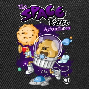 Space cake adventures - Snapback Cap