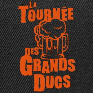 tournee grand ducs expression biere Tee shirts - Casquette snapback