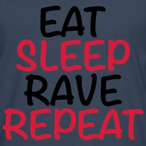 Eat, sleep, rave, repeat Tee shirts - T-shirt manches longues Premium Homme