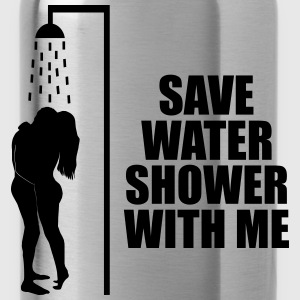 Save water shower with me Koszulki - Bidon