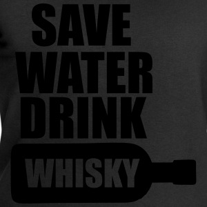 Alcool  Fun Shirt - Save water drink Whisky Tee shirts - Sweat-shirt Homme Stanley & Stella
