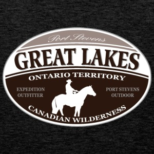 Great Lakes T-skjorter - Premium singlet for menn