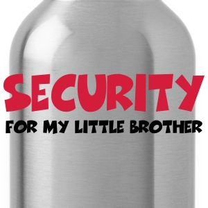 Security for my little brother T-shirts - Vattenflaska