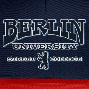 BERLIN UNIVERSITY STREET COLLEGE T-Shirts - Snapback Cap