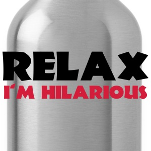 Relax - I'm hilarious T-Shirts - Water Bottle