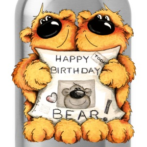 Happy Birthday, Bear Camisetas - Cantimplora