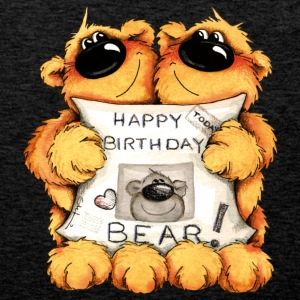 Happy Birthday, Bear Camisetas - Tank top premium hombre