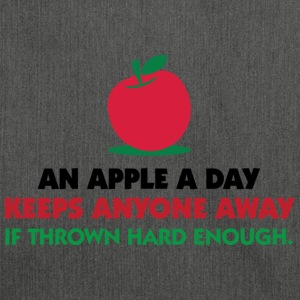 An Apple A Day 1 (dd)++ T-Shirts - Shoulder Bag made from recycled material