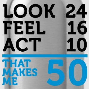 Look Feel Act 50 (2c)++ T-shirt - Borraccia