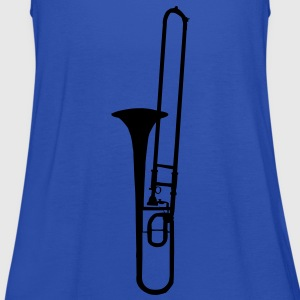 trombone brass instrument music T-shirts - Vrouwen tank top van Bella