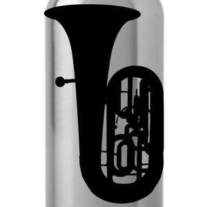 music tuba brass T-shirts - Drinkfles