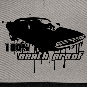 72 Dodge Challenger - 100% Death Proof T-Shirts - Snapback Cap
