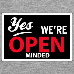 yes we are open minded Tee shirts - T-shirt manches longues Premium Homme