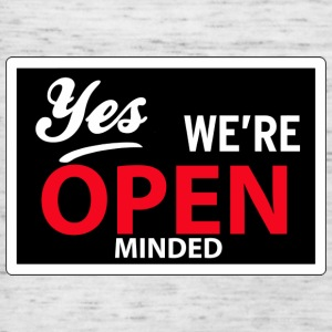 yes we are open minded T-shirts - Vrouwen tank top van Bella