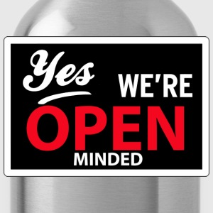 yes we are open minded T-shirts - Drinkfles