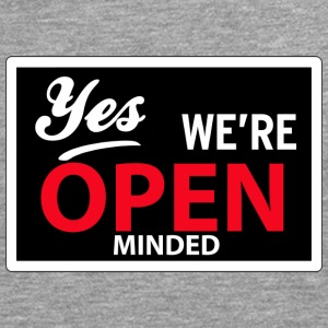 yes we are open minded T-shirts - Mannen Premium shirt met lange mouwen