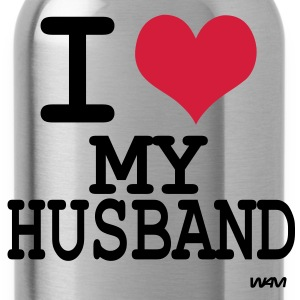 i love my husband Koszulki - Bidon