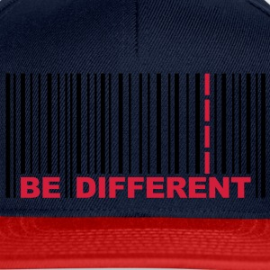 Be Different - Bar code T-shirts - Snapback cap