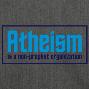 Atheism 3 (2c)++ T-Shirts - Shoulder Bag made from recycled material
