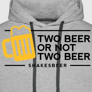 Two Beer Shakesbeer 1 (2c)++ T-Shirts - Men's Premium Hoodie