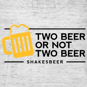 Two Beer Shakesbeer 1 (2c)++ T-shirt - Top da donna della marca Bella