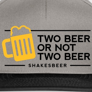 Two Beer Shakesbeer 1 (2c)++ T-Shirts - Snapback Cap