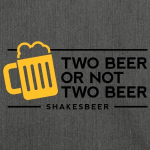 Two Beer Shakesbeer 1 (2c)++ Tee shirts - Sac bandoulière 100 % recyclé