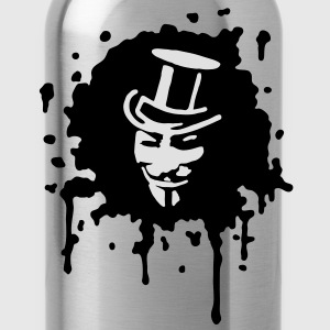 guy fawkes, occupy, we are 99%,  T-Shirts - Water Bottle