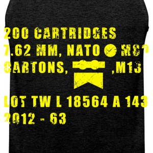 Ammo Box T-Shirts - Men's Premium Tank Top