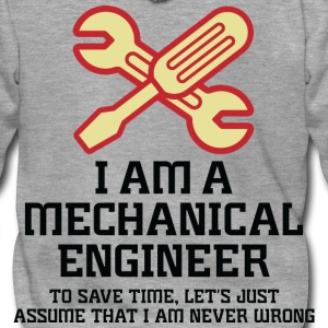 I Am A Mechanical Engineer 1 (dd)++ T-Shirts - Men's Premium Hooded Jacket